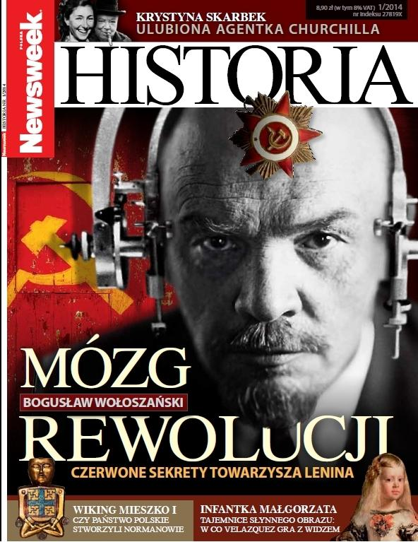 """Okładka """"Newsweeka Historii"""""""