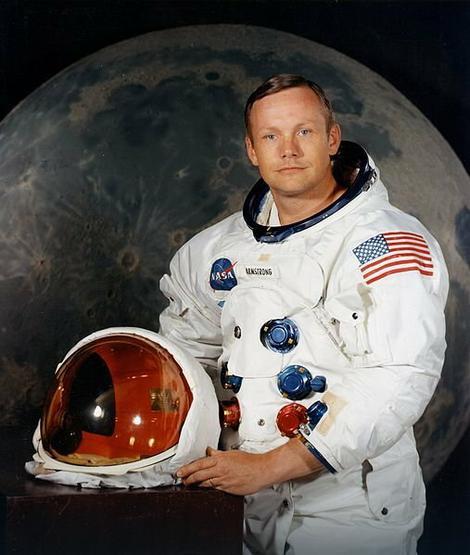 Nil Armstrong kao astronaut