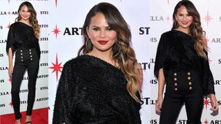 Best Look: Chrissy Teigen w spodniach Balmain