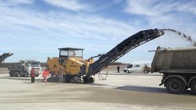 Postępy prac na lotnisku w Modlinie