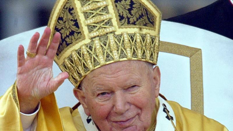 Jan Paweł II, fot. PAP/EPA/Alessandro Bianchi