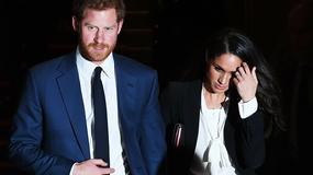 Książę Harry i Meghan Markle na gali w Londynie. Aktorka wyglądała pięknie!