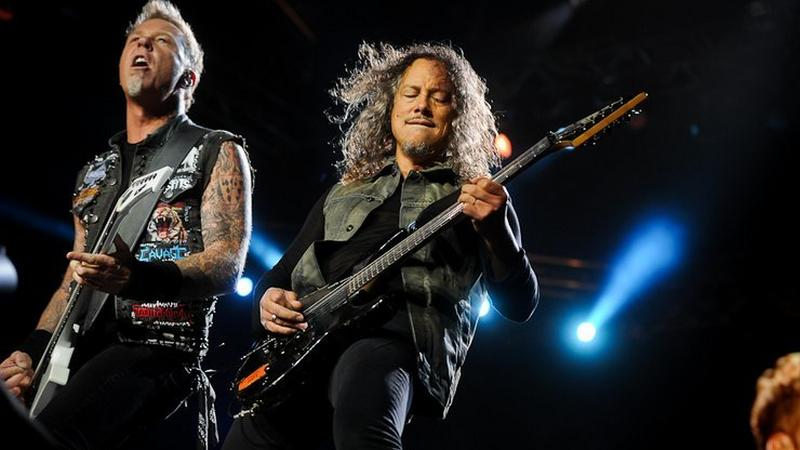 Metallica na Sonisphere Festival w 2012 roku