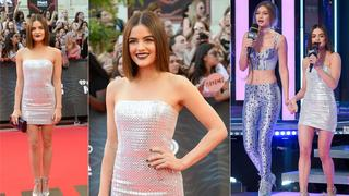 Best Look: Lucy Hale w sukience Azzaro Couture