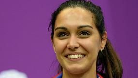 Piękna żona koszykarza Anwilu powalczy o medal w Rio