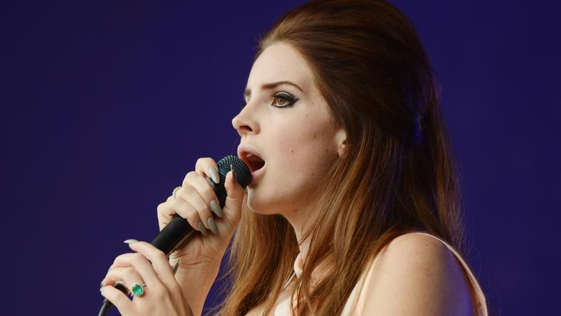 Lana Del Rey bajban van /Fotó: Northfoto