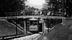 79. urodziny zabytkowej kolejki na Górę Parkową w Krynicy Zdroju
