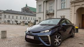 Toyota Mirai: wodorowe auto w Warszawie