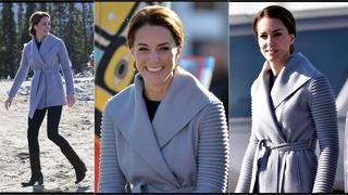 Best Look: Kate Middleton w płaszczu Sentaler