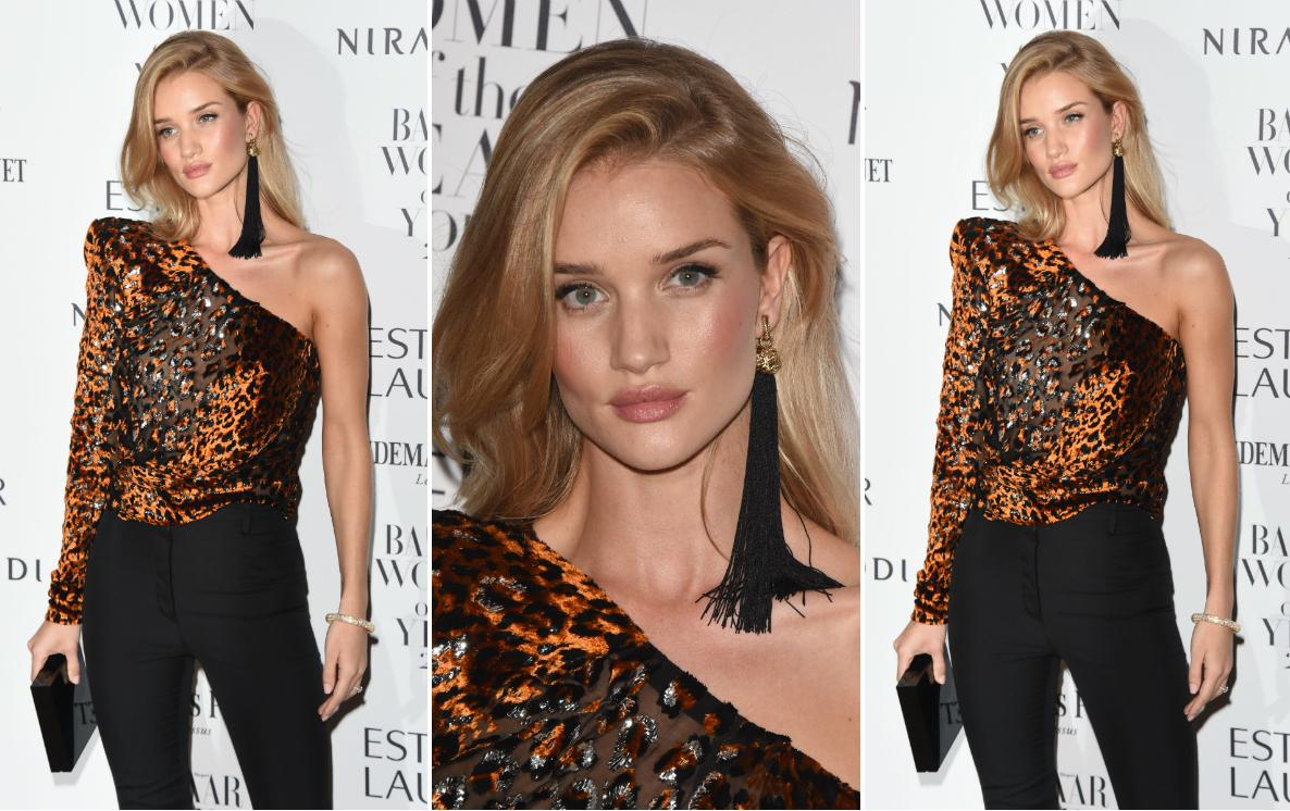 Rosie Huntington-Whiteley na gali Harper's Bazaar Women of the Year Awards 2016