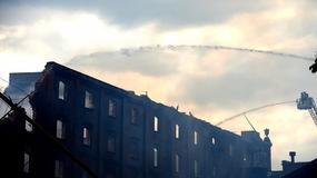 Młyn w Starogardzie Gdańskim stanął w ogniu