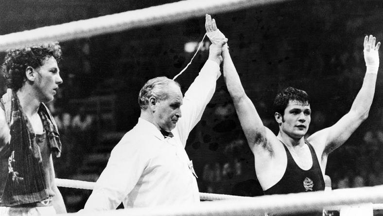 Aranyérem! Csjef Sándor keze a magasban: a kiváló bokszoló a kontinens bajnoka lett 1973-ban / Fotó:MTI
