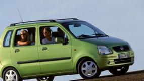 Opel Agila 1.2 16V, Suzuki Wagon R+ 1.3 - Jak lustro z lustrem...
