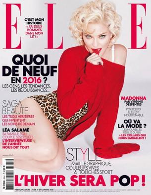 "Madonna gwiazdą francuskiego ""ELLE"""