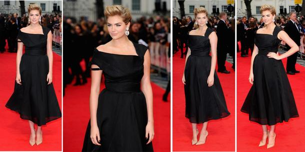 Best Look: Kate Upton w sukni William Vintage