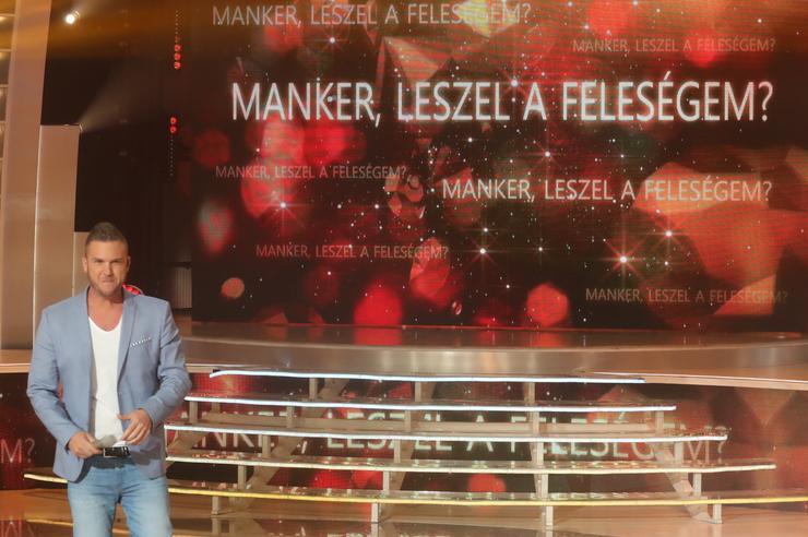 A Nagy Duett színpadán kérte meg Manker kezét / Fotó: Weber Zsolt