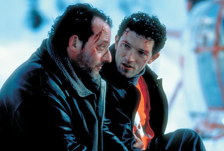A nyomasztó Bíbor folyók (2000) a gallok válasza a Hetedikre, alakítása vetekszik Morgan Freemanével. Itt a zsarutársát alakító Vincent Cassellel. (Fotó: RAS-archív)