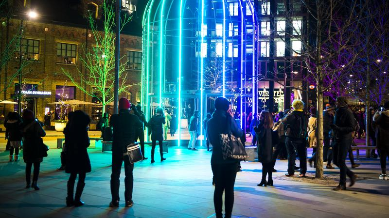 Londoni fényfesztivál / Fotó: Profimedia-Reddot
