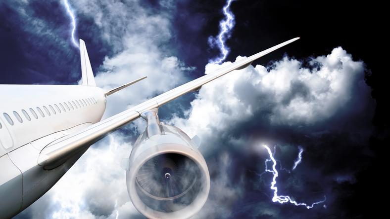 A turbulenciától nem zuhanhat le a gép / Fotó: Northfoto