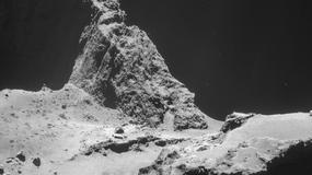 Misja Rosetta: ESA opublikowała zdjęcia przesłane z komety