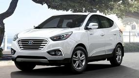 Face lifting Hyundaia Tucsona Fuel Cell