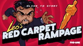 Oscary 2016: gra z Leonardo DiCaprio hitem internetu