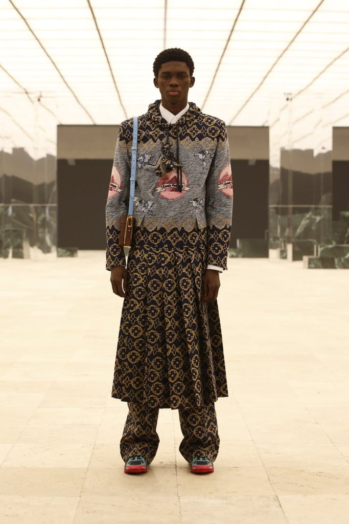 Ottawa Kwami walks for Louis Vuitton for F/W21