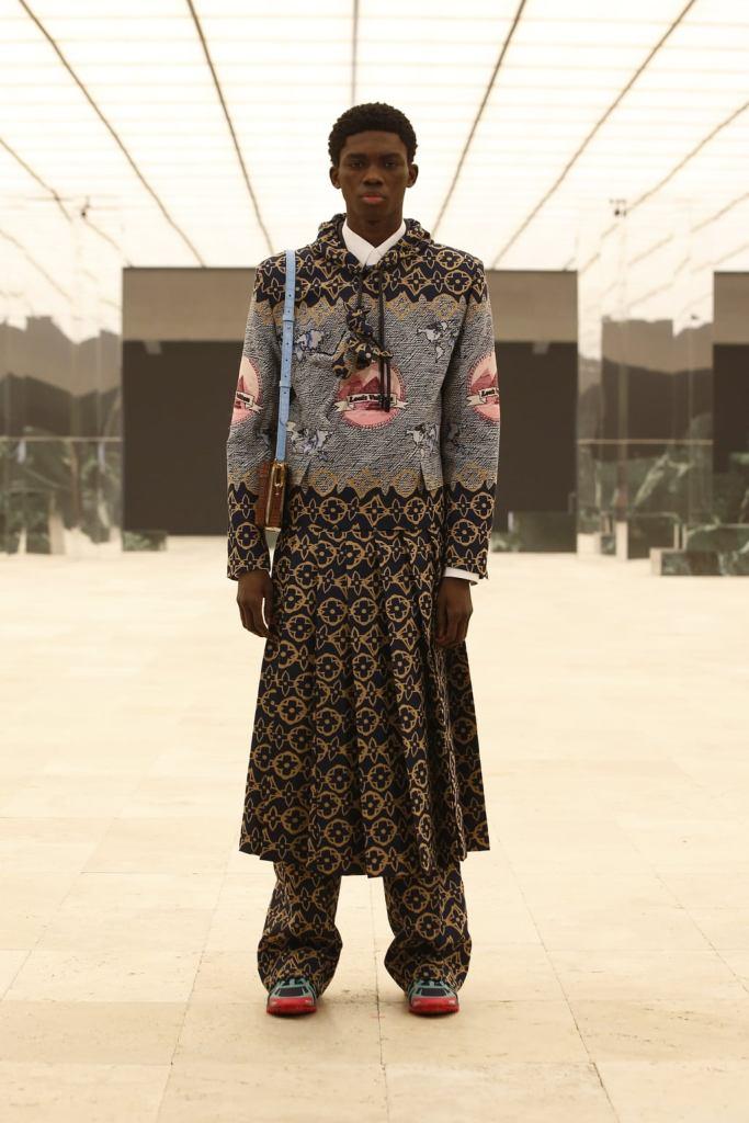 Ottawa Kwami walks for Louis Vuitton for F/W21