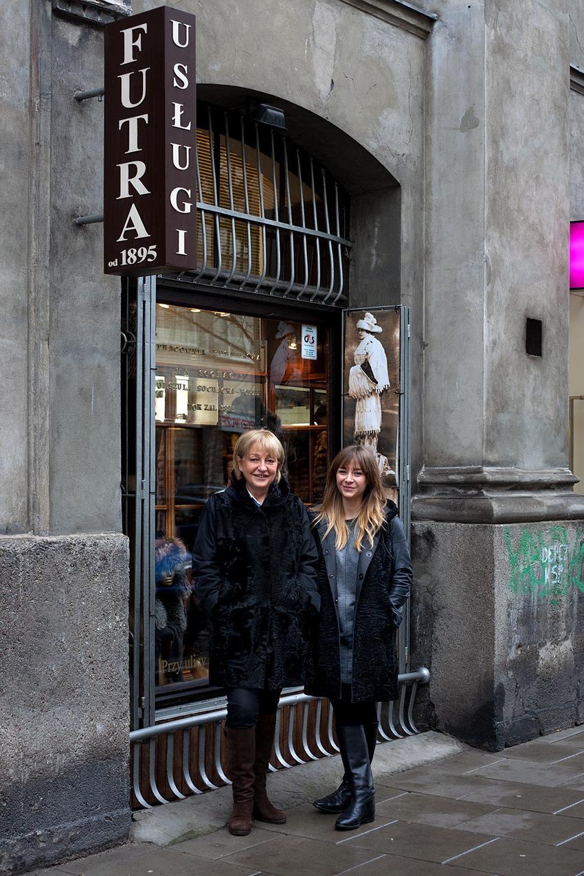 Urszula Sochacka- Koper i Maria Koper / fot. Marek Pietroń