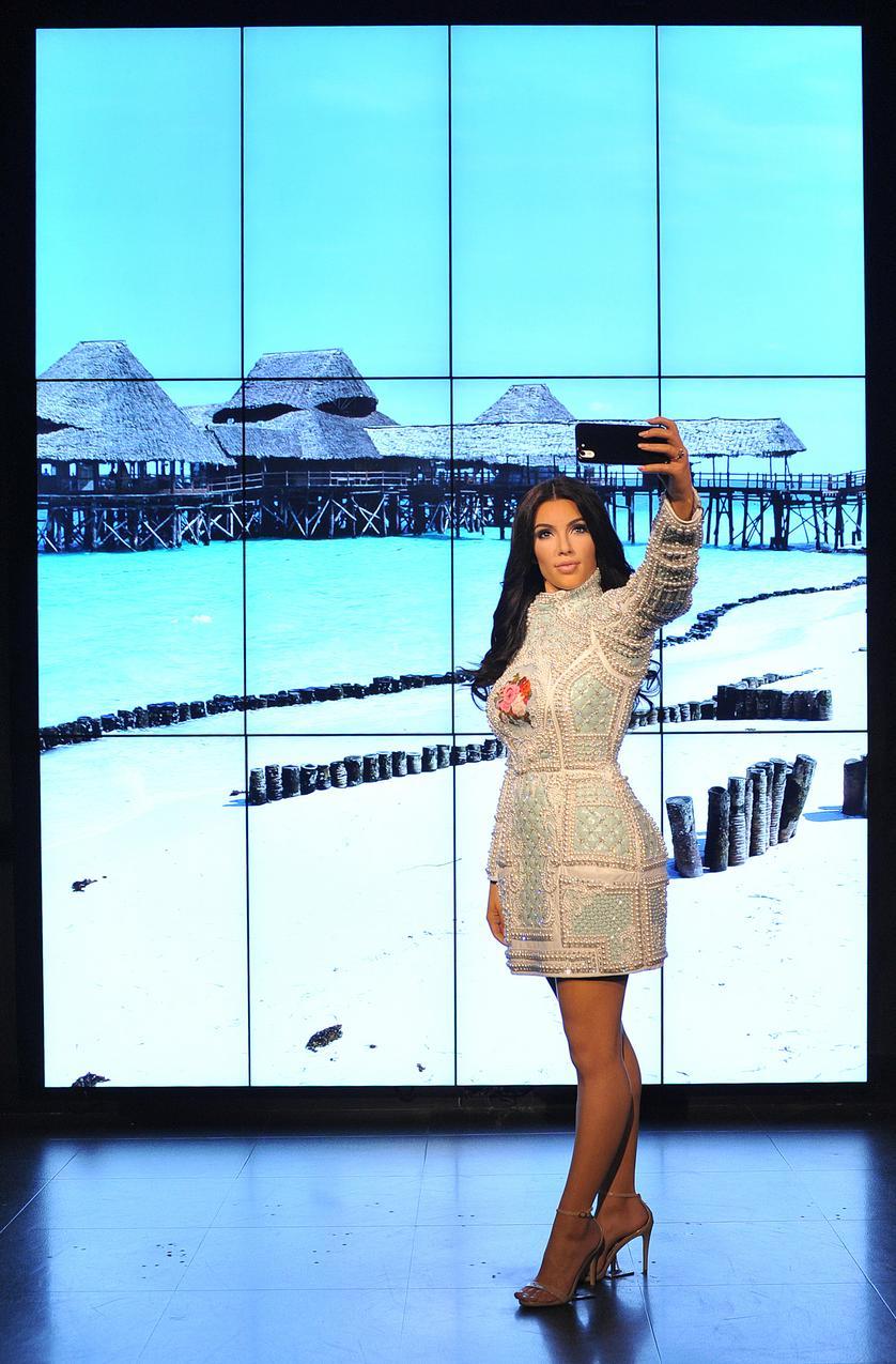 Figura woskowa Kim Kardashian