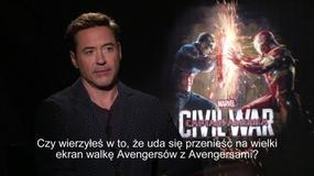 """""""Kapitan Ameryka: Wojna bohaterów"""": Robert Downey Jr o filmie"""