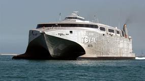 TSV-X1 Spearhead - okręt wsparcia logistycznego US Army