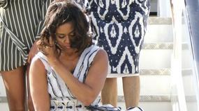 Córka Michelle Obama o krok od wpadki. Sukienka odsłoniła więcej, niż powinna
