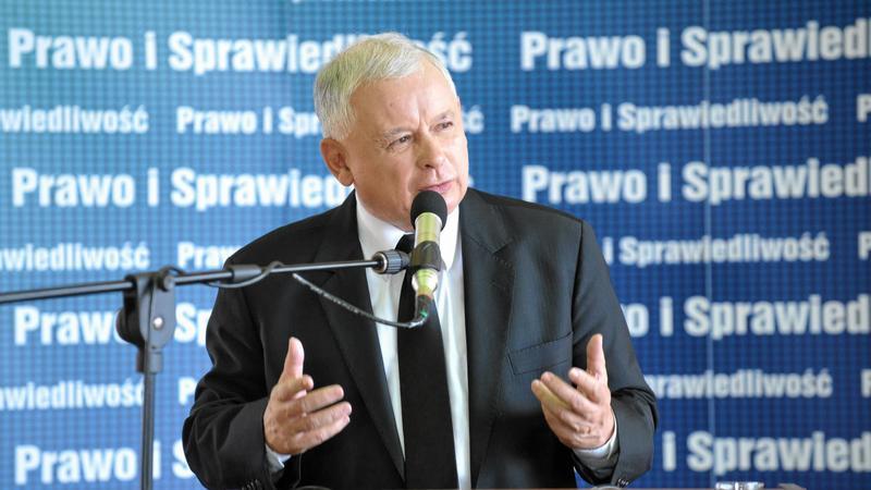 Jarosław Kaczyński, fot. Konrad Topolski / Agencja Gazeta