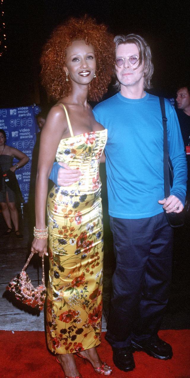 Iman i David Bowie