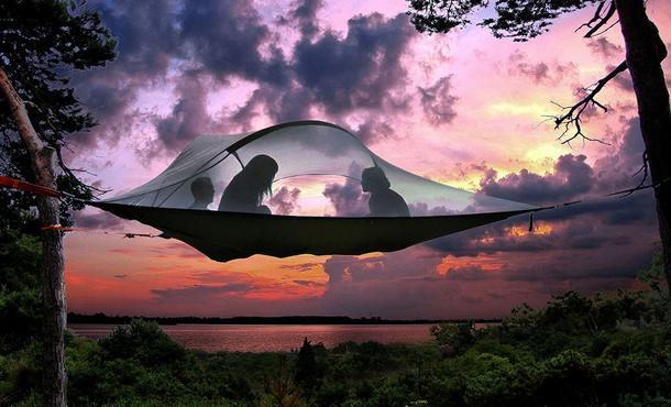 Namiot na drzewie