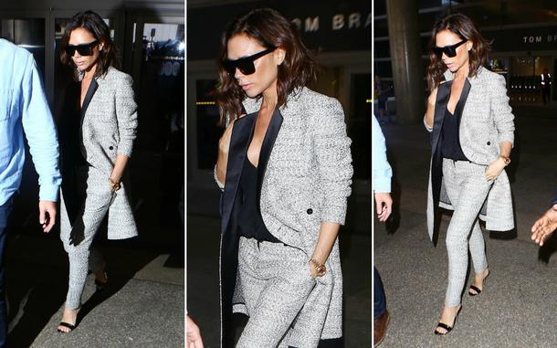 Best Look: Victoria Beckham w garniturze Victoria Beckham Collection