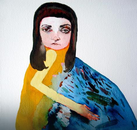 "Maja Ružnić - ""Self Portrait as The Emotional Trash Can"""