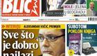 """INTERVJU Vučić za štampano izdanje """"Blica"""": Sve što je dobro, u Srbiji naiđe na otpor i proteste"""