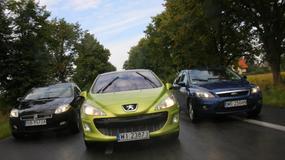 Fiat Bravo kontra Peugeot 308 oraz Ford Focus - Trzy kompaktowe sposoby na szpan