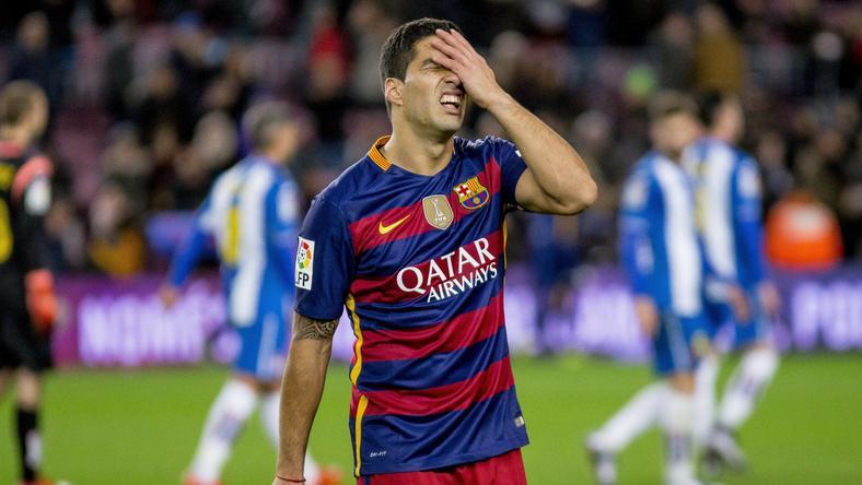 Suárez bánhatja a kihágását /Fotó: AFP