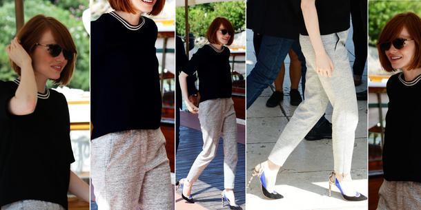 BEST LOOK: Emma Stone w Sandro