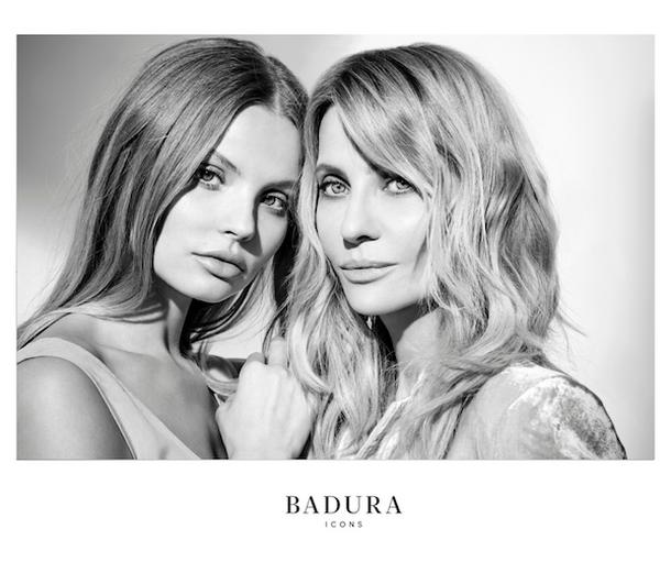 Piękne Aneta Kręglicka i Magdalena Frąckowiak w kampanii Badura Icons