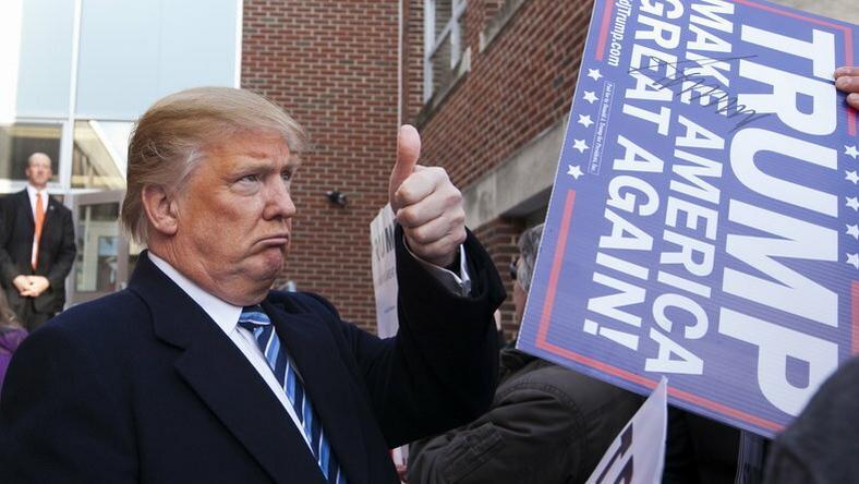 Trumpnak állítása szerint nincs oka panaszra / Fotó: Northfoto