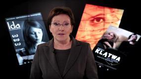 Ewa Kopacz kibicuje polskim filmowcom przed rozdaniem Oscarów
