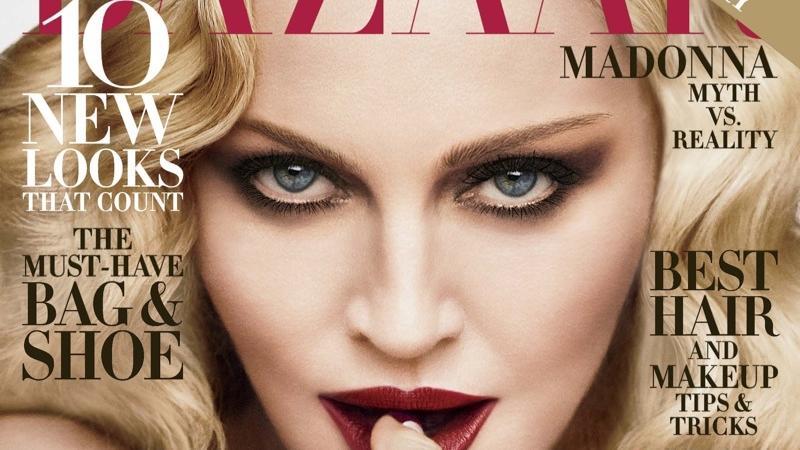 "Madonna na okładce ""Harper's Bazaar"""