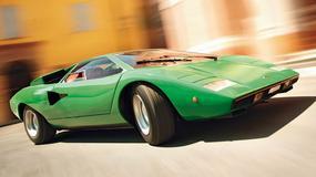 Pierwsze Lamborghini Countach - dzień z zielonym