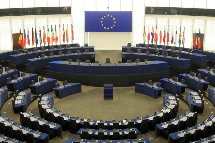 Sala posiedzeń Europarlamentu