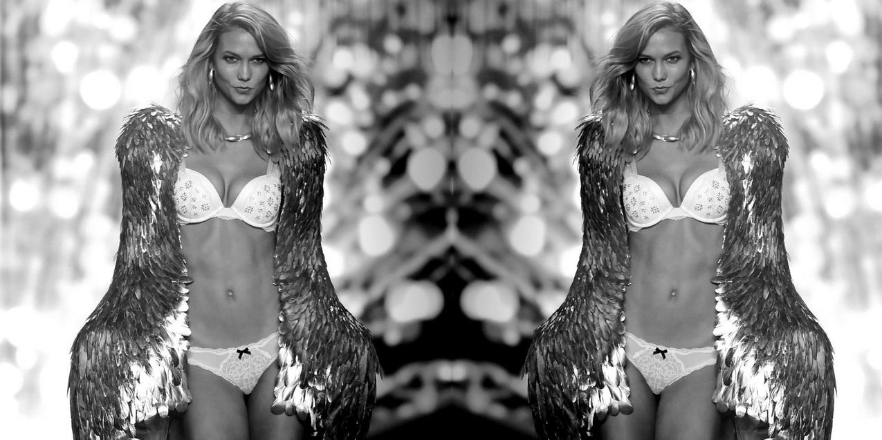 Karlie Kloss na pokazie Victoria's Secret / fot. Getty Images
