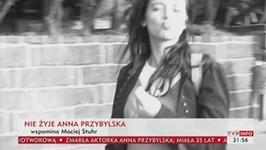 Maciej Stuhr o Annie Przybylskiej: jestem w szoku